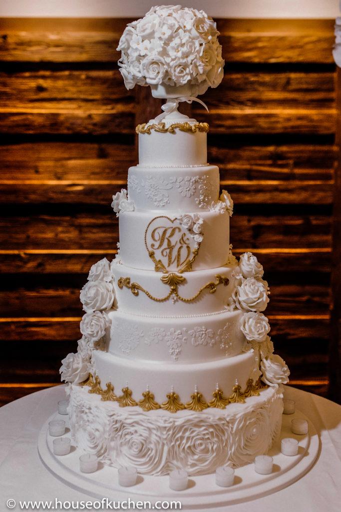 A dreamy Wedding Cake